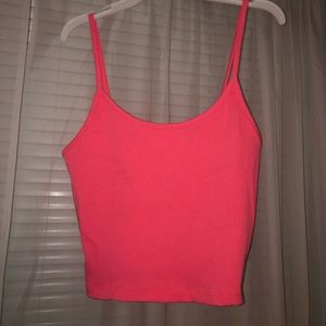 American Eagle Cropped Ribbed Cami